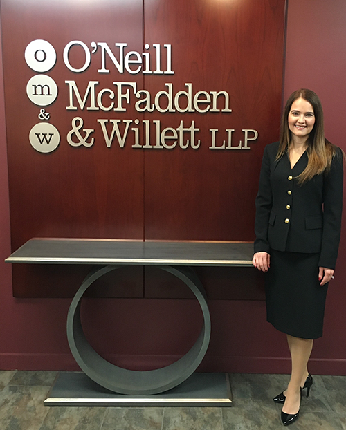 ANNA MANDULA JOINS O'Neill McFadden & Willett LLP
